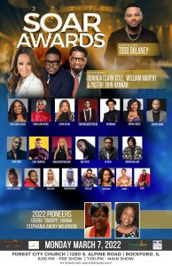 Sammie Okposo will be ministering alongside other world renowned Gospel music minister at the SOAR Awards 2022