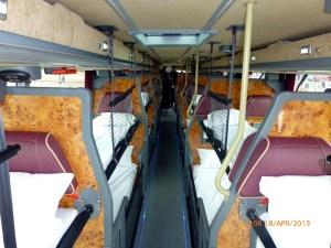 Megabus Gold 50301 SF13FMC therear upper deck 180413 M Crowe