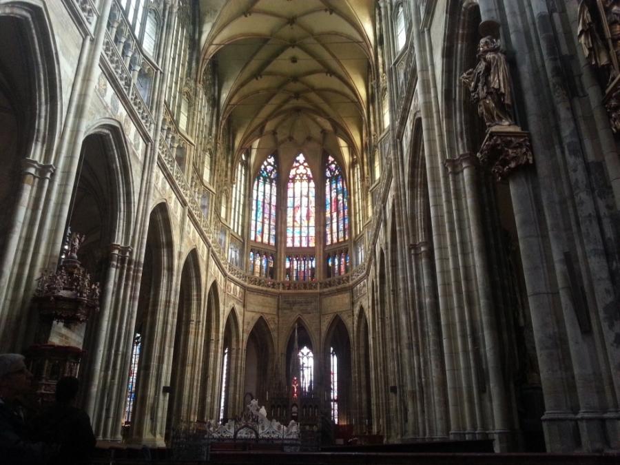 Wnętrze Katedry św. Wita