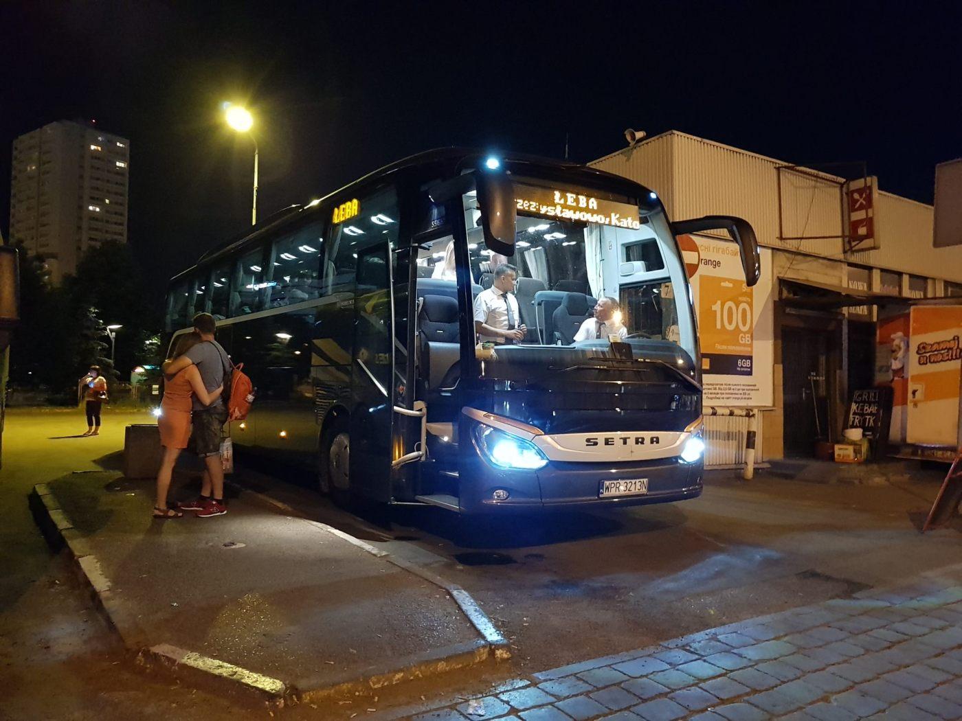 Jastrzębia Góra autobus