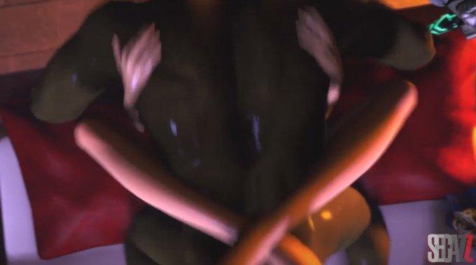 女体化したリンクをガノンドロフが犯す動画【ゼルダの伝説】 (11)
