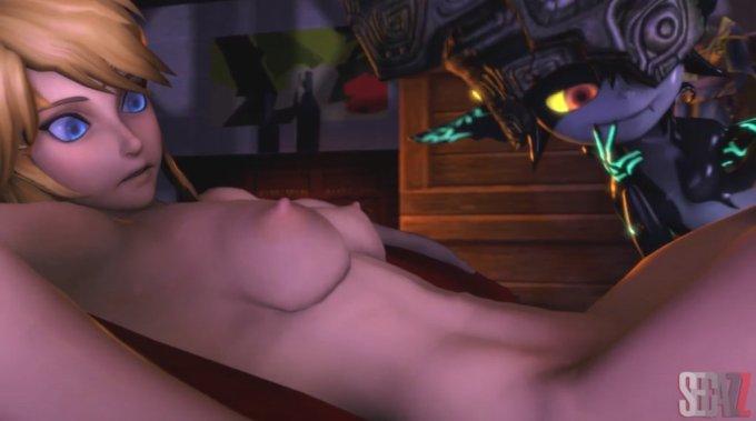 女体化したリンクをガノンドロフが犯す動画【ゼルダの伝説】 (4)