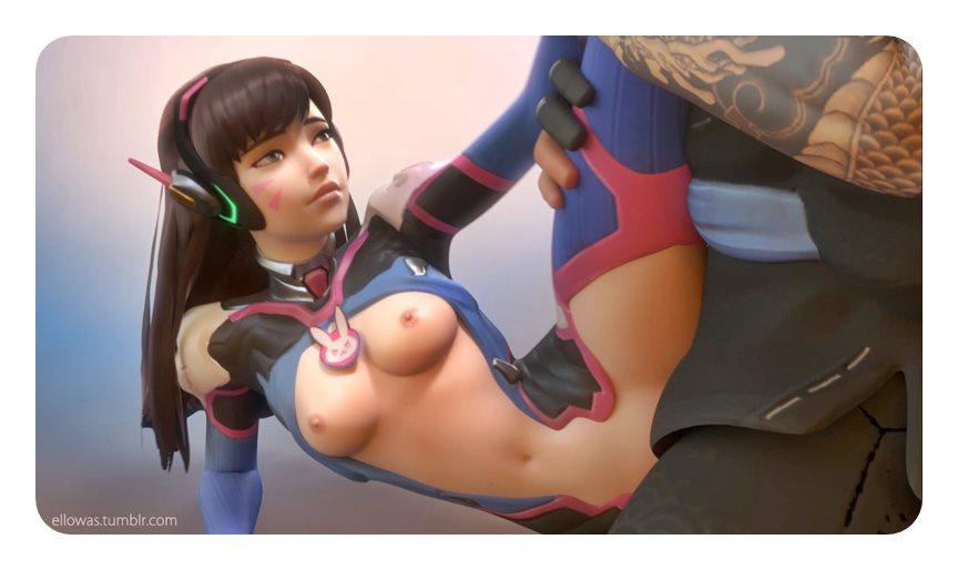 [Overwatch] キャラクターがエロすぎてプレイに集中できないwww Part1 [3DCG,SFM] (8)