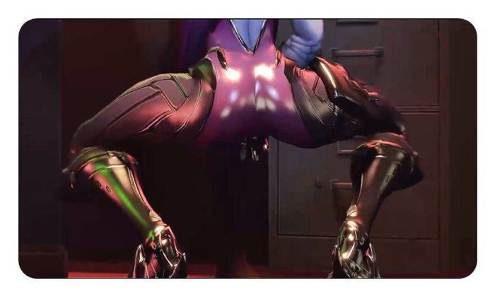 [Overwatch] キャラクターがエロすぎてプレイに集中できないwww Part3 [3DCG,SFM] (4)