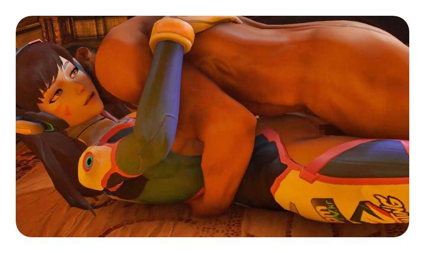 [Overwatch] キャラクターがエロすぎてプレイに集中できないwww Part6 [3DCG,SFM] (34)