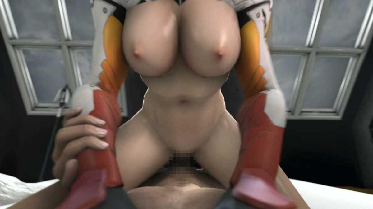 [3DCGアニメ] マーシー(アンジェラ・ジーグラー)が騎乗位で激しく腰を振り、たっぷり中出し【オーバーウォッチ(Overwatch)】 (13)