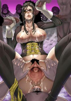セーシをぶっかけてるエロ画像集 【顔射・ぶっかけ】