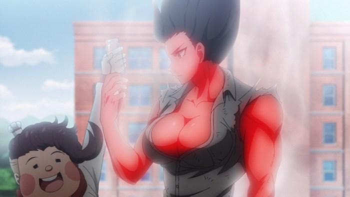 【ダンガンロンパ】 褐色・筋肉・おっぱいが揃った終里赤音のエロ画像 02 (1)