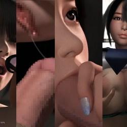 【梅麻呂3D】いまどきのおんなのこ 【3DCG,エロ動画】