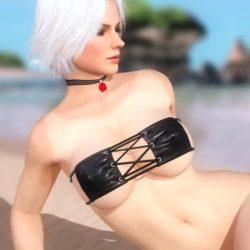 [DOA,3DCG] デッドオアアライブのヌードMODでキャラクターを全裸に剥くエロ動画 (8)