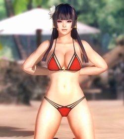 [DOA,3DCG] デッドオアアライブのヌードMODでキャラクターを全裸に剥くエロ動画 (29)