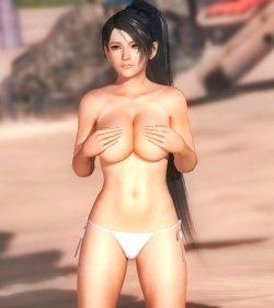 [DOA,3DCG] デッドオアアライブのヌードMODでキャラクターを全裸に剥くエロ動画 Part4 (28)