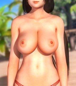 [DOA,3DCG] デッドオアアライブのヌードMODでキャラクターを全裸に剥くエロ動画 Part4 (46)