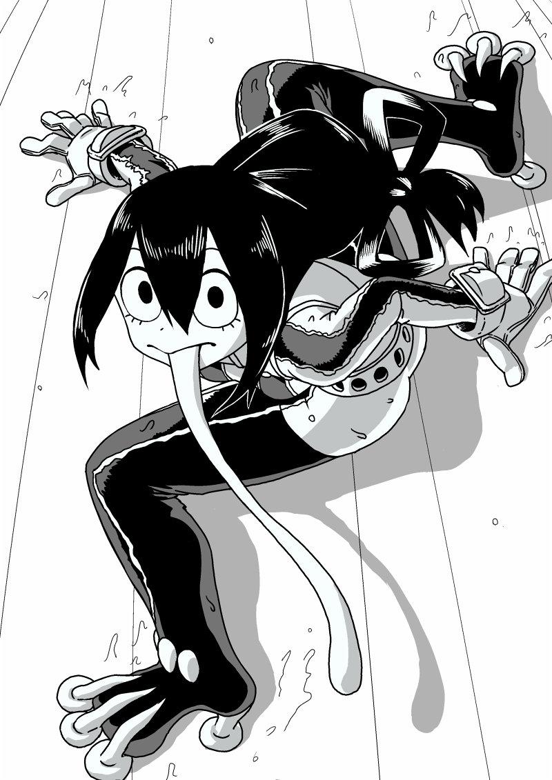 [僕のヒーローアカデミア] 蛙吹梅雨ちゃん ケロケロ可愛いエロ画像 04 (24)