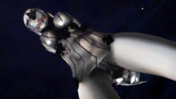 【MMD-R18,港湾棲姫】 港湾棲姫がディルドでオナニー→騎乗位でSEXするGIF・画像 (22)