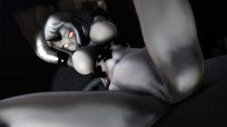 【MMD-R18,港湾棲姫】 港湾棲姫がディルドでオナニー→騎乗位でSEXするGIF・画像 (29)
