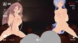 【MMD R18・弱音ハク】 ハクさんがただひたすら犯されるエロ動画 (2)
