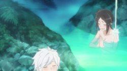 ダンジョンから戻る途中で見つけた温泉に入るが、水着が溶け出してヘスティア様があられもない姿に・・・ (3)