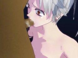 [3DCGアニメ] ゴス娘が大勢のデブ男たちに輪姦され、穴という穴をすべて犯される! (30)