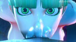 モリガンが極太ペニスでイマラチオされる3DCGアニメ (13)