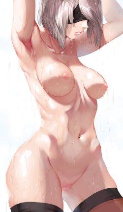 ニーア オートマタ エロ画像 (35)