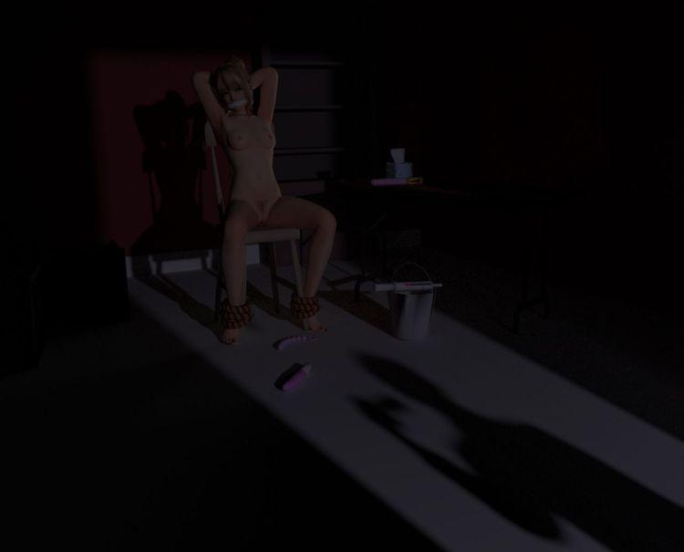 [DOA,3DCG] マリー・ローズちゃんが全裸に剥かれているくっそエロい3DCG (15)