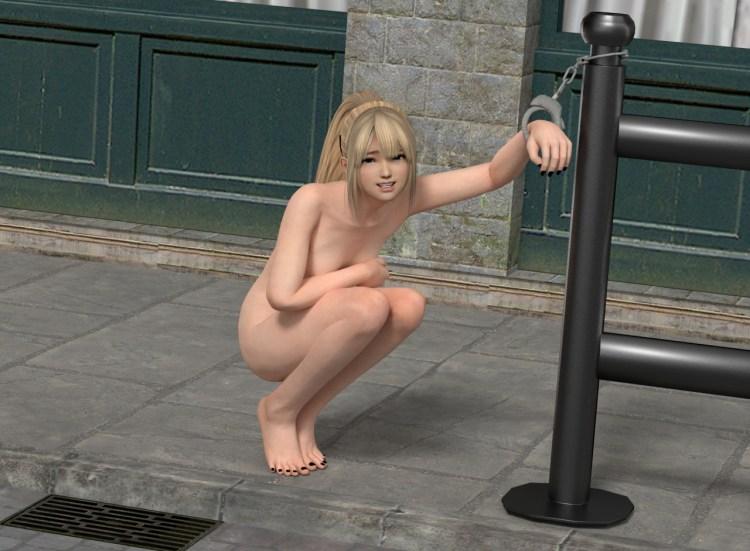 [DOA,3DCG] マリー・ローズちゃんが全裸に剥かれているくっそエロい3DCG (17)