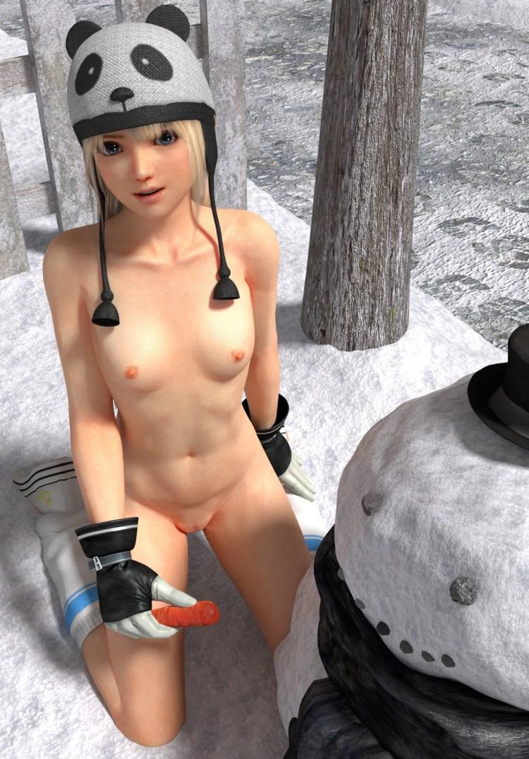 [DOA,3DCG] マリー・ローズちゃんが全裸に剥かれているくっそエロい3DCG (9)