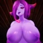 [Monster Girl Island] ドSのスライム娘に気を失うまで搾り取られるw [3DCGアニメ,エロゲ]