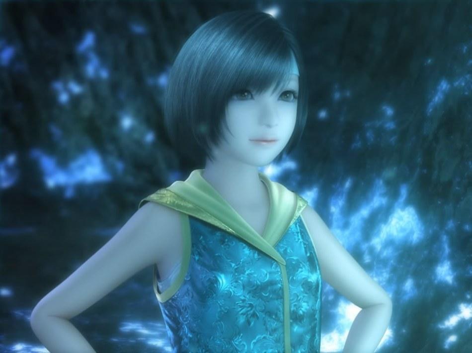 [FF7,エロ動画] ユフィが謎の触手モンスターに捕まり、全身を犯され失禁する3DCGアニメ (2)