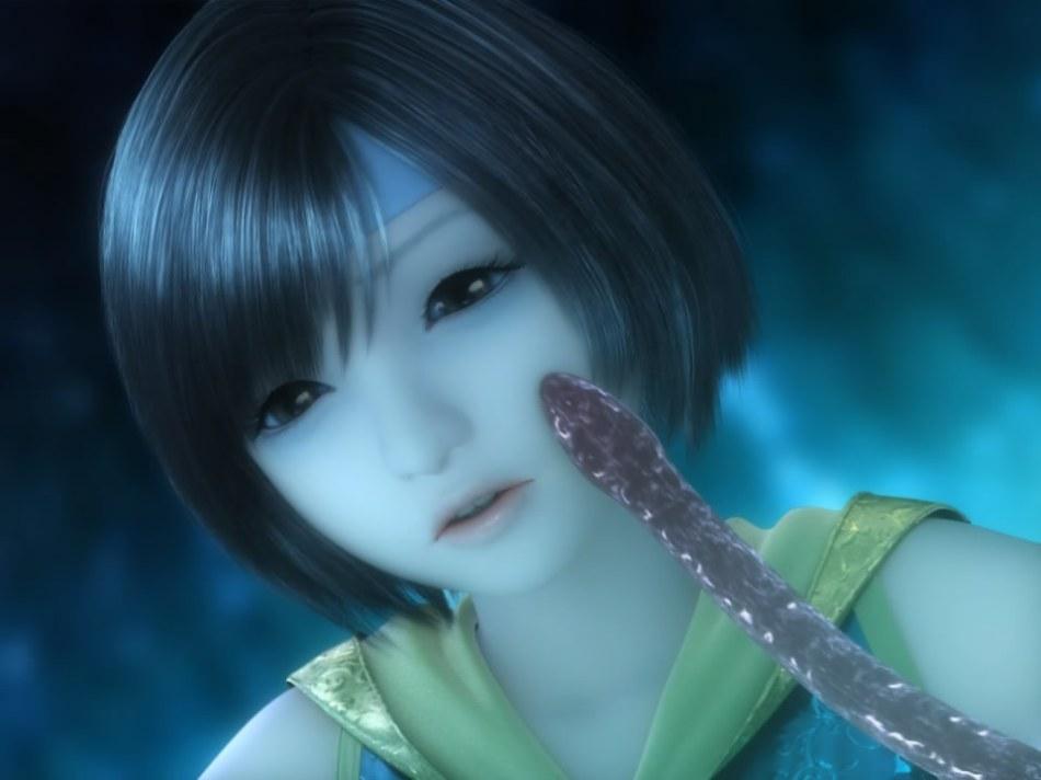 [FF7,エロ動画] ユフィが謎の触手モンスターに捕まり、全身を犯され失禁する3DCGアニメ (8)