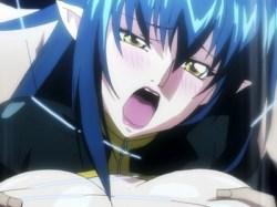【エロアニメ】敵の罠にハマり拘束レイプ!媚薬を盛られ、男達の手で何度もイかされる!!