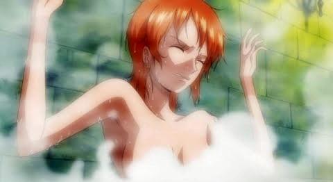 [ワンピース] ナミさんが風呂場で透明人間に犯される! [エロ動画]