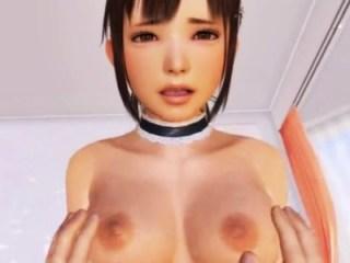 【3DCGアニメ】VRカノジョ 全エッチシーン まとめ動画