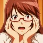 [エロアニメ] メガネ巨乳のおさげちゃんが初めてのエッチで乱れる!【純情少女エトセトラ】