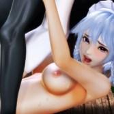 【東方3DCG】十六夜咲夜が悪魔に捕まり、巨根中出し子宮破壊レイプ!!