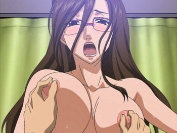 [エロアニメ] 巨乳眼鏡ナースに逆レイプされるショタ!騎乗位や手コキ、シックスナインで強制的に絞られる!!