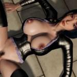 [ワンピース,3DCG] 囚われの身のロビンがスパンダムに強姦され膣内出しされてしまう! (ロビンソン狂うぞー)
