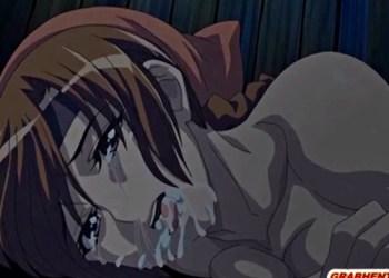 【エロアニメ】豊満な身体のくノ一を押し倒し、その巨乳とオ〇ンコを犯しつくす!