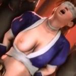 綾波レイや霞、ティファがバックからアナルを犯されて中出しされる3Dエロアニメ