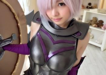 【Fate/Grand Order】マシュのエロコスでマシュケベ礼装やメガネ制服などをVRで!