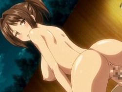 [エロアニメ] 彼女の母親に誘惑されて浮気セックス!→現場を彼女に見つかり3Pへ突入!? (恋糸記念日)