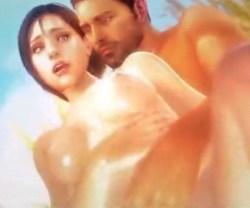 [バイオハザード] ジルとクリスが草原で開放的な青姦ラブラブセックス (3DCG)