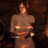 【バイオハザード】エイダがエロMODで全裸に剥かれてツンとしたおっぱいを晒されるゲームプレイ動画