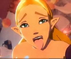 [ゼルダの伝説 BotW] ゼルダ姫がボコブリンたちに輪姦レイプされぶっかけ中出しされまくる (3Dエロアニメ)