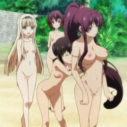 [裸コラ・剥ぎコラ] 一般アニメのあの娘たちが全裸に剥かれるエロ動画