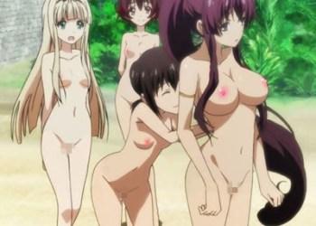 【裸コラ・剥ぎコラ】一般アニメのあの娘たちが全裸に剥かれるエロ動画