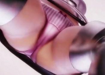 【ガルパン】西住まほがレースクイーン衣装でストリップダンス!