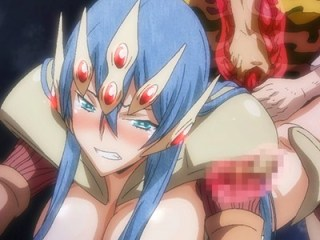 【エロアニメ】女郎蜘蛛の巨乳娘に捕食されながら濃密なセックス!