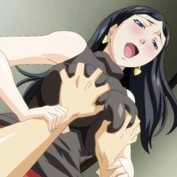 [エロアニメ] 恋人が見ている目の前で人妻と浮気セックスする!
